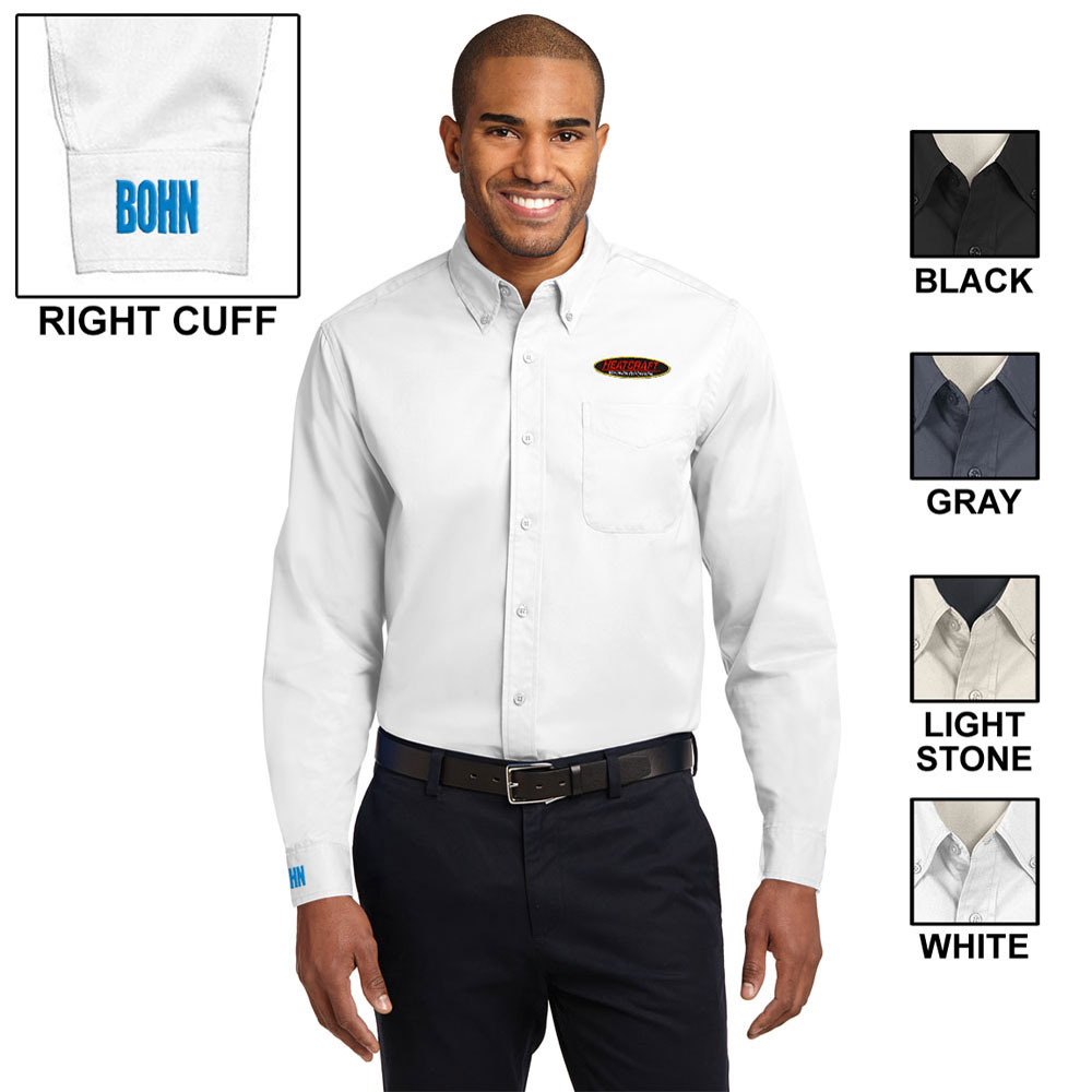 CO-BRAND EASY CARE TWILL LONG SLEEVE SHIRT