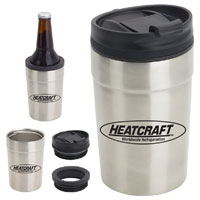 DOUBLE-WALL INSULATED TUMBLER/ HOLDER